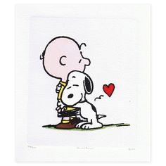 Hugs- gotta love growing up with Charlie  Brown series!!!