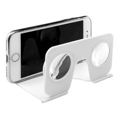 Experience the brilliance of virtual reality on your smartphone with the Imagination VR Glasses. Simply unfold the glasses and attach your phone and you'll soon see the glory of VR.  #vr #virtualreality #smartphone #imagination #vrglasses #glasses #gamer #movie #netflix #branded #brandability #corporategifts  #promotionalgifts #brandability
