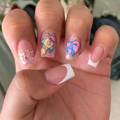Pop Art Nails, Semi Permanente, Beautiful Nail Art, Nail Manicure, Nail Arts, Nail Art Designs, Lily, Makeup, Beauty