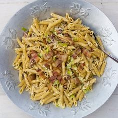 Bacon and Leek Pasta