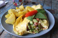 omelet samaraorganics   - Costa Rica
