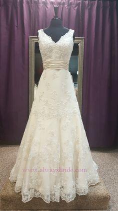 Alfred Angelo 2251 #2251. Always a Bride Wedding Consignment, Grafton, WI