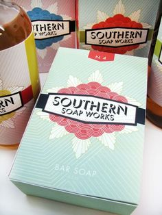 Andrea Gill Southern Soapworks #packaging PD