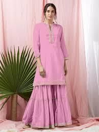 #StraightKurtis #RayonKurtis #DesignerKurtis #PartyWearKurtis #CasualKurtis #LongKurtis #EthnicKurtis #CottonKurtis #GownStyleKurtis #PlazoKurti Indian Gowns Dresses, Pink Gowns, Pink Dress, Designer Kurtis Online, Pink Bridesmaid Dresses, Embroidery Suits, Designer Anarkali, Traditional Sarees, Party Wear Dresses