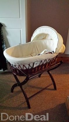moses basket For Sale in Tipperary : - DoneDeal. Cots For Sale, Getting Ready For Baby, Moses Basket, Bassinet, Nursery, Bed, Furniture, Home Decor, Crib