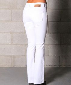 White bootcut jeans, Jeans and Miss mes on Pinterest