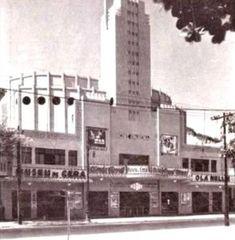 O Cine Ipanema ficava situado na Rua Visconde de Pirajá, 86, em frente à Praça General Osório. Foto de 1934.