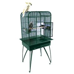Small Play Top Bird Cage  check it out at www.petsuppliesonlineuk.com