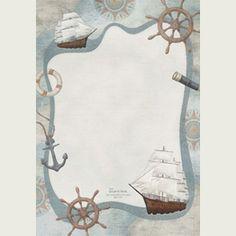 papier à lettre la mer