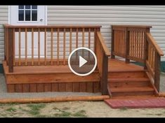 Best Mobile Home Deck Gallery Home Modular Wood Deck Kits 400 x 300