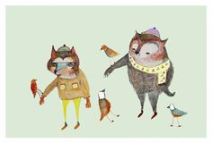 http://www.etsy.com/listing/65084947/childrens-art-the-bear-and-fox-limited?ref=cat2_gallery_8 Ashley Percival