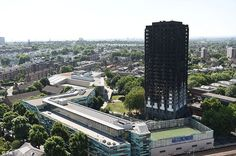 Residents tried to escape from Grenfell Tower (pictured) in west London in the early hours of Wednesday morning
