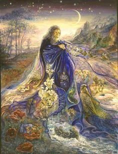 "Josephine Wall's ""Dream Maker"""