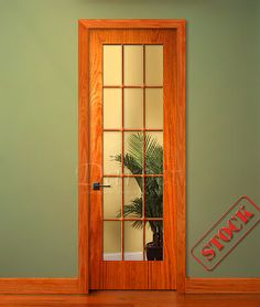 lite french clear glass oak interior prehung wood doors for builders in chicago darpet chicago & Flush Primed Hollow Core 6\u0027-8\