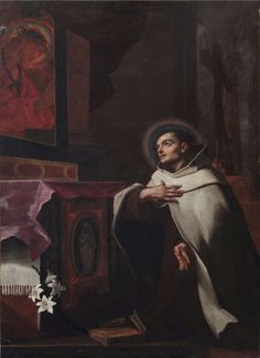 "Cesare Gennari (Cento,1637- Bologna,1688) ""Saint John of the cross"" 
