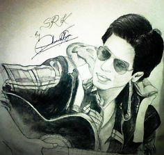 Bollywood's King Khan!! It's SRK!!! <3
