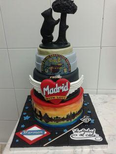 Tarta fondant Madrid