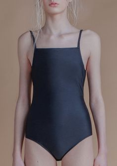 Collãr – black one-piece swimwear from SS17 collection Athirst Fabric - 100% polyester In stock - S / M / L Colour - black / beige Care - softly
