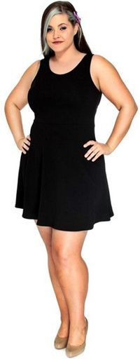 http://www.delightfullycurvy.com/cheap-plus-size-party-dresses-for-under-50/  Simplicity mini dress.