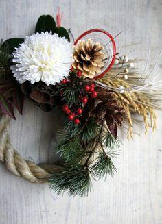 素敵なアイデアいっぱい★オリジナル正月飾り・リースで新年を迎えよう!