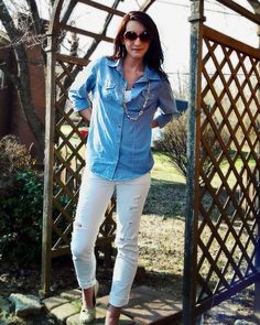 I'm addicted to chambray.