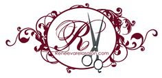 Designs By Kassie: RV Salon   logo design