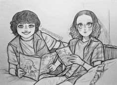 PF Watch Stranger Things, Stranger Things Have Happened, Stranger Things Netflix, Stranger Danger, Cool Drawings, Amazing Art, Sketches, Fan Art, Canvas