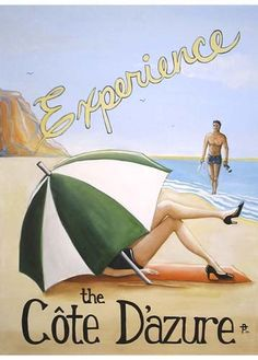 cote  d'azure poster Bethany Travis