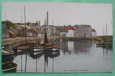St ANDREWS Fife Scotland St Andrews Harbour Fishing Boats | eBay