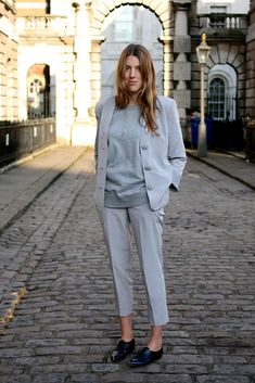 Great Greys #style #fashion #suit #workwear