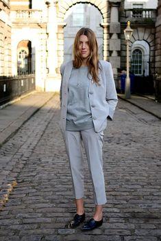 Great Greys #style #fashion #suit #workwear
