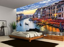 City Buildings Venice Colours Water  Wall Mural Photo Wallpaper GIANT WALL DECOR
