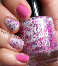 On Wednesdays We Wear Pink! #nails #nailart #polish - Bellashoot.com