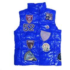 f307cc5341f9 Soldes Moncler Gilet K2 Patch Bleu Pas Cher Moncler, Down Coat,  Authenticity, Us
