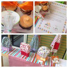 Comemore com a gente _ Oficinas de Cupcakes, Biscoitos ou Festa do Pijama. No nosso espaço ou no seu.