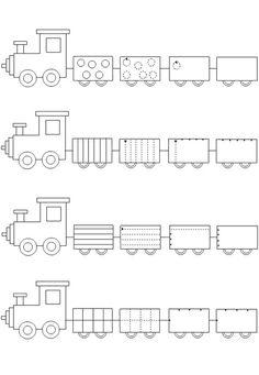 train worksheet  |   Crafts and Worksheets for Preschool,Toddler and Kindergarten