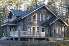 Super House Plans Craftsman Cottage Dream Homes Ideas Craftsman Cottage, Craftsman Exterior, Craftsman House Plans, House On The Rock, House In The Woods, Cabins In The Woods, Style At Home, Style Cottage, Le Logis