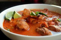 Spicy Thai Chicken Curry