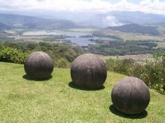 bosnia stone spheres | ... here are some of the zavidovici granite spheres along with the videos