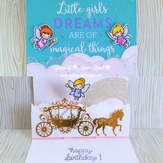 To celebrate the new Lawn Fawn summer release and also participate in the current Lawnscaping Challenge # 130, Sparkle It Up, I made an over-the-top birthday card for a little girl, using the Lawn …