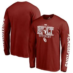 5d193afe6aed Oklahoma Sooners Fanatics Branded 2017 Big 12 Football Conference Champions  Long Sleeve T-Shirt – Crimson