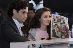 Scenes between Dan (Penn Badgley) and Blair (Leighton Meester) on Gossip Girl were always a delight to watch, especially this one. :)