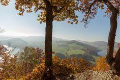 Von hier oben - St-Muffert-Klippe - bietet sich ein besonders beeindruckender Ausblick
