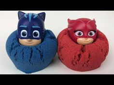 Pj Masks Wrong Heads Toys with Kinetic Sand and Cups Water colorful, Learn colors for kids - YouTubyyytrvl uyy UBB RF Se Kinetic Sand, Pj Mask, Finger Painting, Learning Colors, Imaginative Play, Toy Boxes, Coloring For Kids, Toddler Crafts, Getting Organized