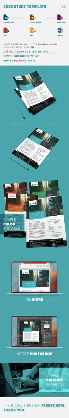 Case Study Template | Flyer - Newsletters Print Templates Download here : https://graphicriver.net/item/case-study-template-flyer/15406794?s_rank=120&ref=Al-fatih
