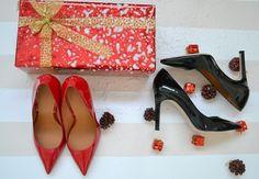 Regalos chica salon Again & Again rojo & negro. #itgirl #again&again #idea #regalo https://www.zapatosmayka.es/es/catalogo/marca:againagain/