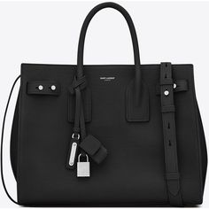 d59d8b22877 Saint Laurent Small Sac De Jour Souple Bag (€2.650) ❤ liked on Polyvore