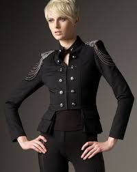 Image result for military epaulettes jacket