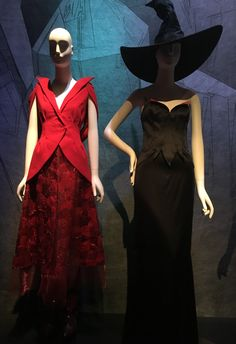 """The Museum at FIT """"Fairy Tale Fashion"""" - """"Wizard of Oz"""" Rodarte, Fall 2011; Thierry Mugler, Haute Couture Fall 1997"""