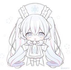 Dibujos Anime Chibi, Cute Anime Chibi, Kawaii Chibi, Kawaii Anime Girl, Anime Girl Pink, Anime Art Girl, Anime Angel, Kawaii Drawings, Cute Drawings